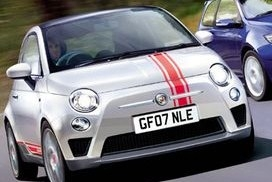 All Year Fiat 500 6 Offset Rally Stripes Set
