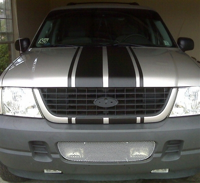 Explorer 10 Quot Rally Stripes Stripe Decals Or Sport Trac