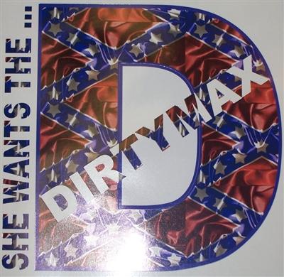 Duramax Rebel Flag Dirtymax Decal