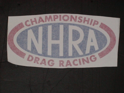 Nhra Window Or Trailer Decals New