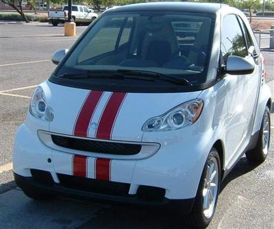 Smart Car Viper Stripes